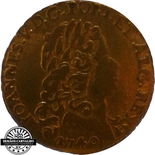 Ioannes V 1740  800 Reis (Gold)