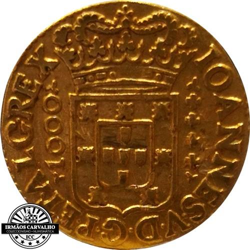 Ioannes V 1716 1.200 Reis (Gold)