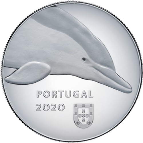 Portugal 5€ 2020 The Dolphin Proof