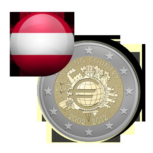 Áustria (2,00€ 2012)