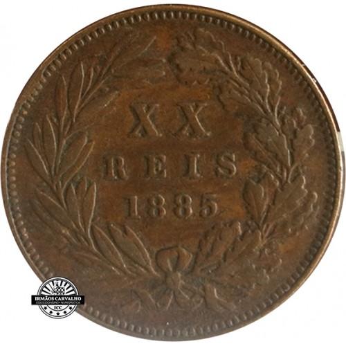 D. Luís I 1875 XX Reis