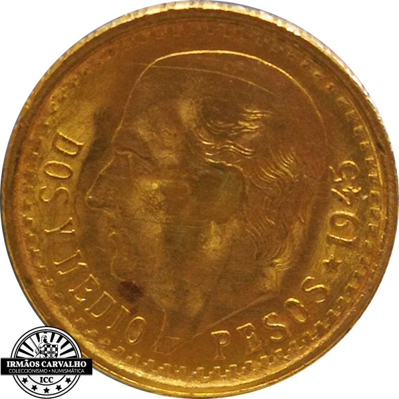 Mexico 2.5 Pesos (Gold)