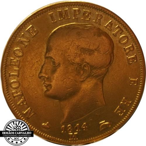 Itália 40 Liras 1814 (Reino de Napoleão)