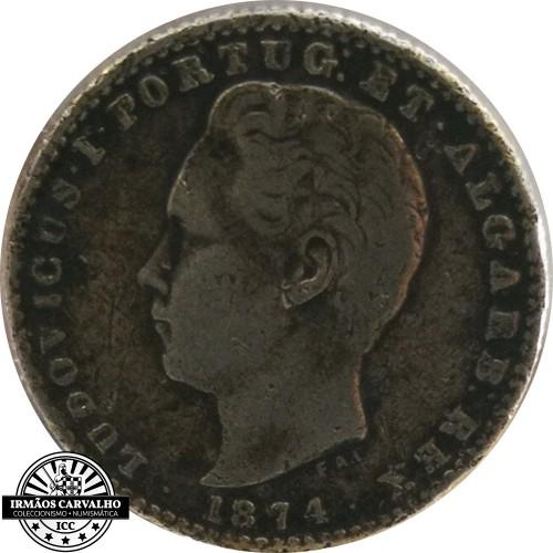 Ludovicus I 1874 100 Reis
