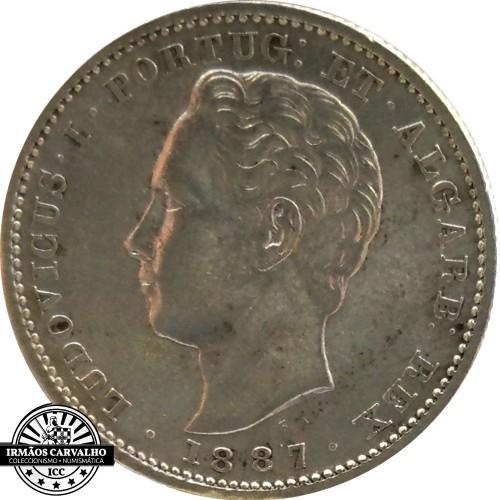 D. Luís I 200 Reis 1887