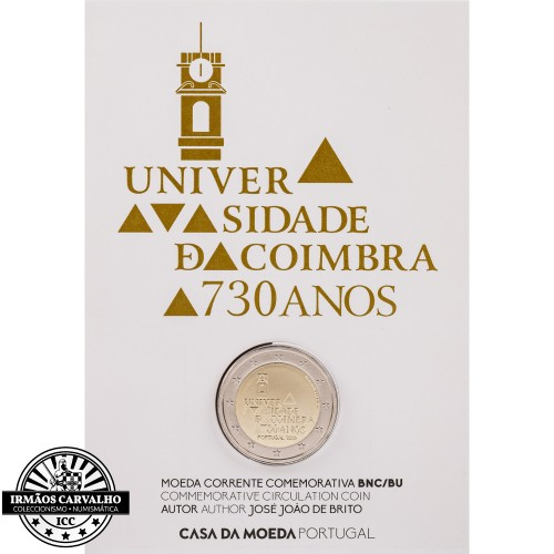 Portugal  2€ 2020 Coimbra University Bu