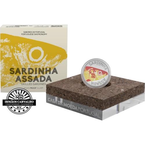 Portugal Sardinha 10€ 2020 Prata Proof