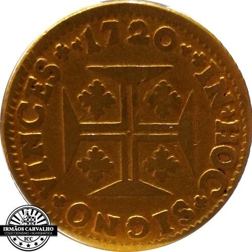 Ioannes V 1720 1.200 Reis (Gold)