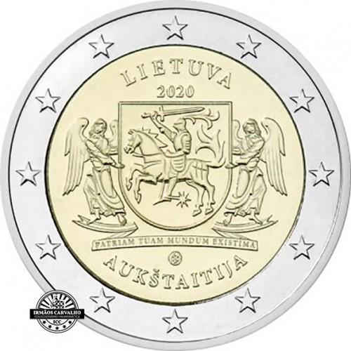 Lithuania 2€ 2020 Aukstaitija
