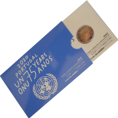 Portugal  2€ 2020 UNITED NATIONS PROOF