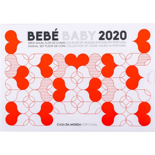Portugal 2020 ANNUAL SERIES - BABY SET (FDC)