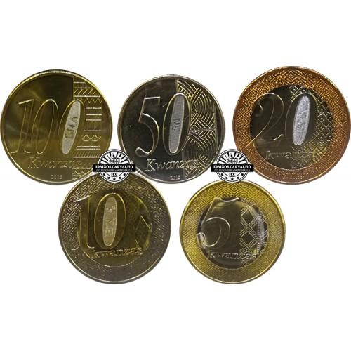 Angola Coin Set