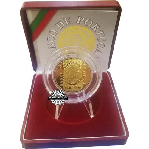 Proof 500$00 150th Bank of Portugal 1996 (Bimetalic)