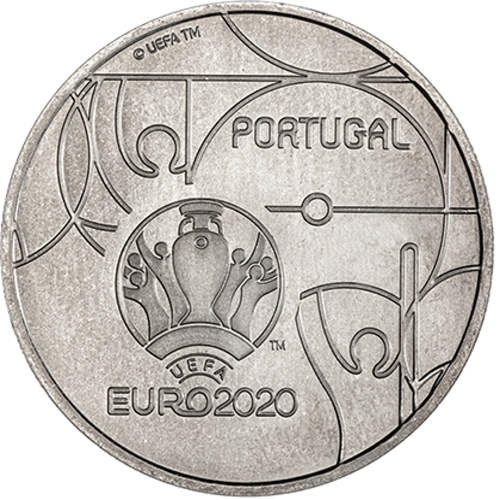 Portugal 2,50 2020 Euro Cup
