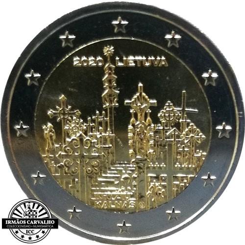 Lituânia 2€ 2020 Colina das Cruzes