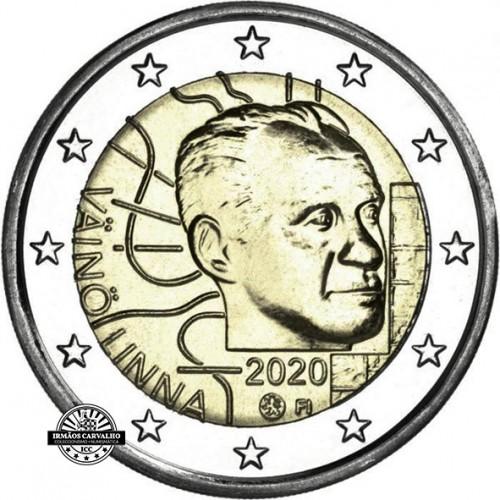 Finlândia 2€ 2020 Vaino Linna