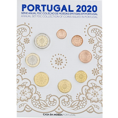 Portugal SÉRIE ANUAL 2020 FDC