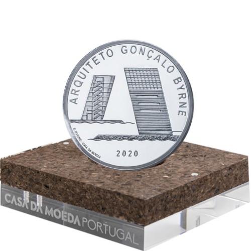 Portugal 7.5€ 2020 GONÇALO BYRNE (Prata Proof )