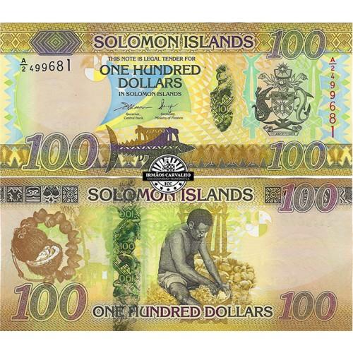 Ilhas Salomão 100 Dólares 2015