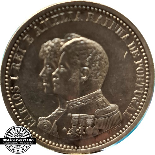 400th Anniversary Discovery of India - 500 Reis 1898
