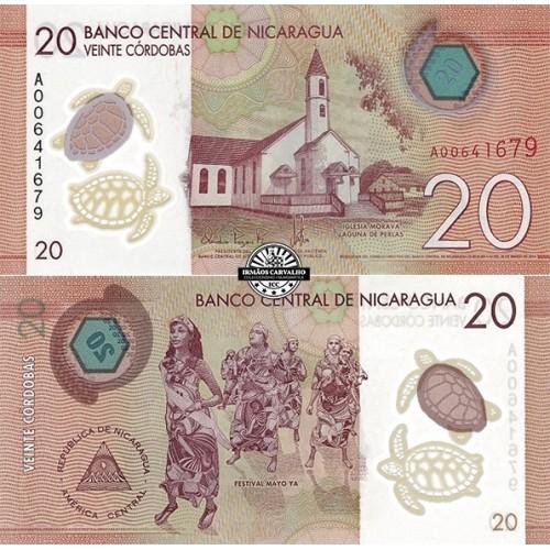 Nicarágua 20 Cordobas 2014