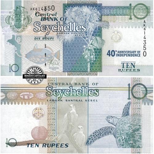 Seychelles 10 Rupees 2016