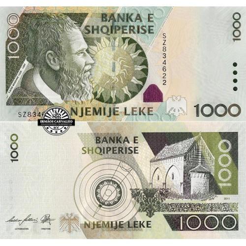 Albania 1000 Leke 2011