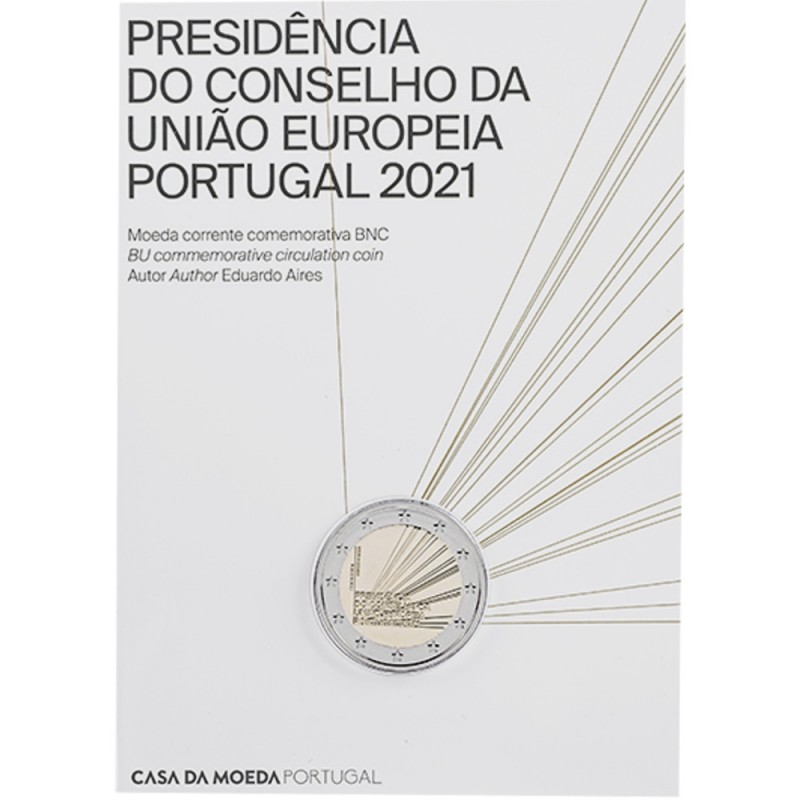 Portugal  2€ 2021 PORTUGUESE P. OF THE E.U. (BU)