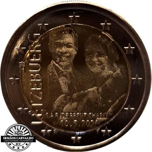Luxembourg 2€ 2020  Prince  Henri D´Orange - Nassau