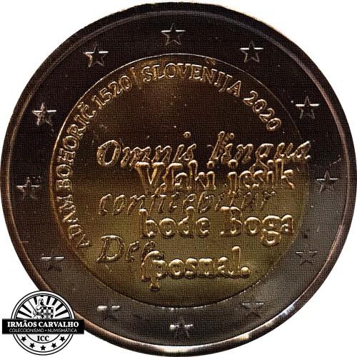 Slovenia  2€ 2020 Adam Bohorich