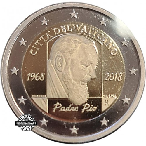 Vatican 2€ 50th Anniv. of the death of Padre Pio Proof