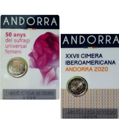 Andorra 2 Euro 2020 Iberian American Summit & Women's Universal Suffrage
