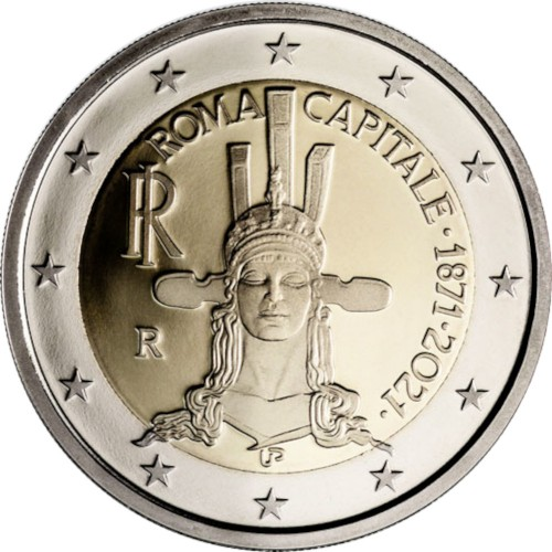 Itália 2€ 2021 Roma Capital E. da Cultura