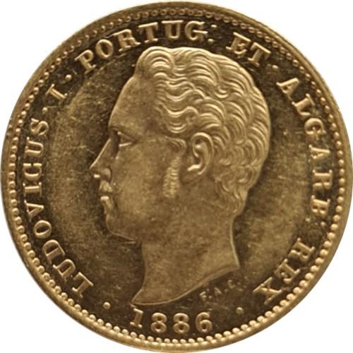 Ludovicus I 1886 5000 Reis  (Gold)