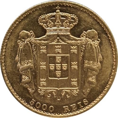 Ludovicus I 1869 5000 Reis  (Gold)
