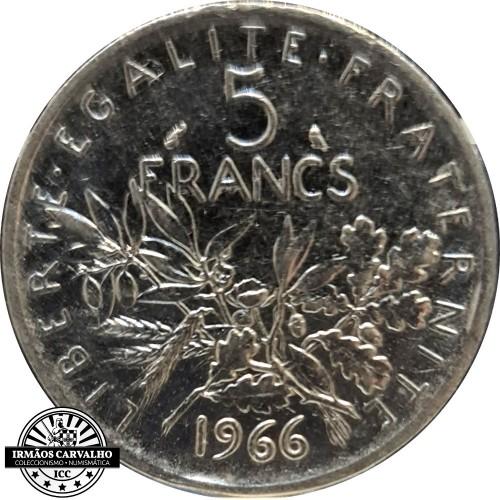 France 1966 5 FRancs