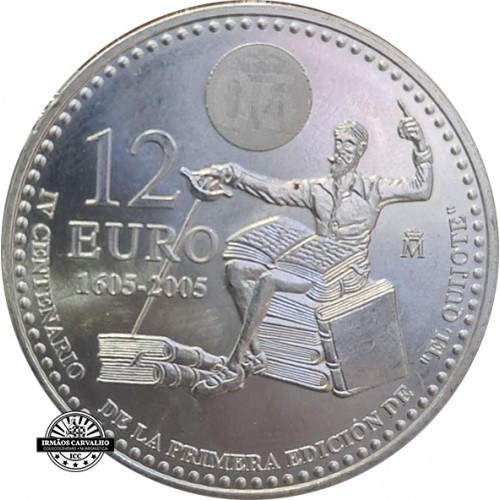 Spain 12€ 2005 D.Quixote