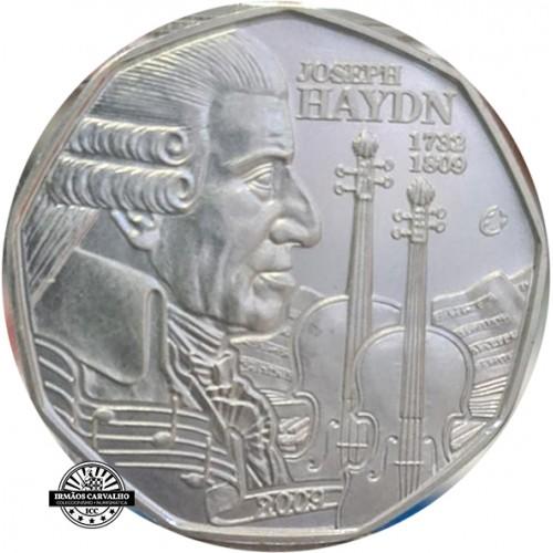 Austria 5€ 2009 Joseph Haydn