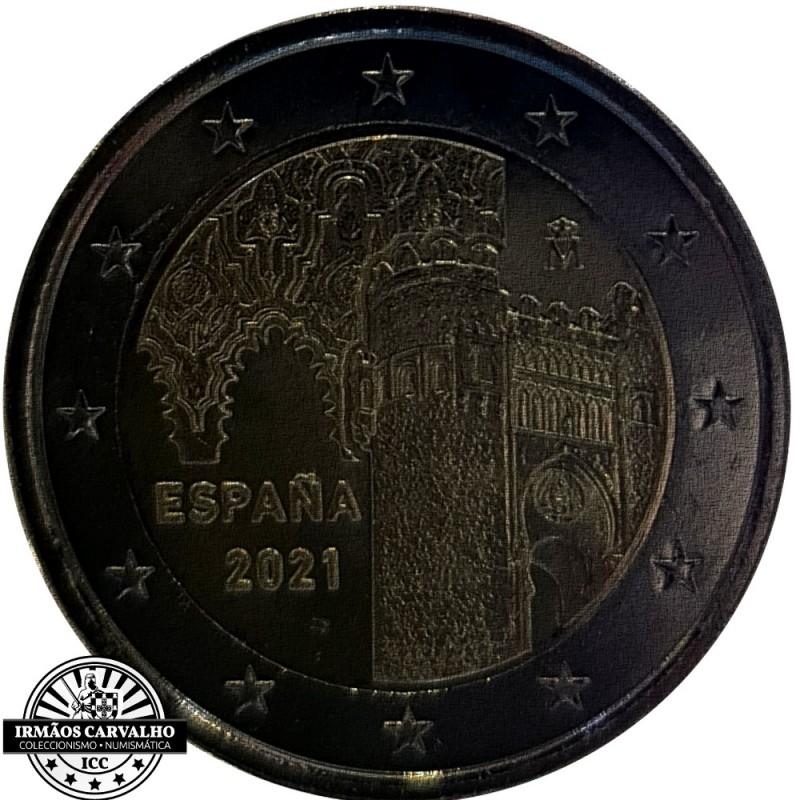 Spain 2€ 2021 Toledo City