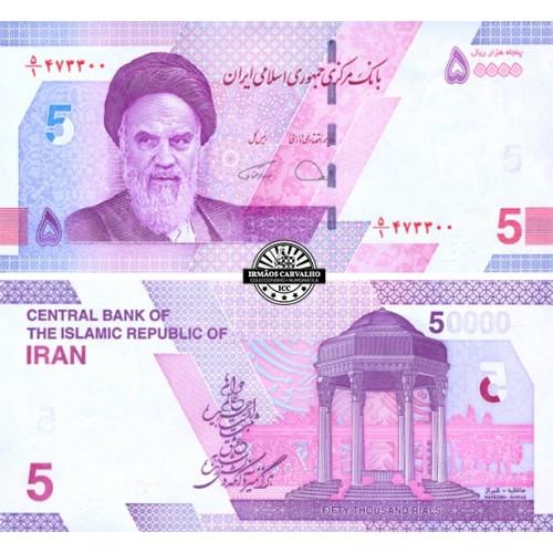 Iran 50000  Rials N/D (2021)