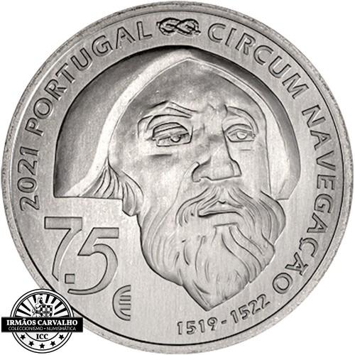 Portugal 7.5€ 2021  FERNÃO DE MAGALHÃES