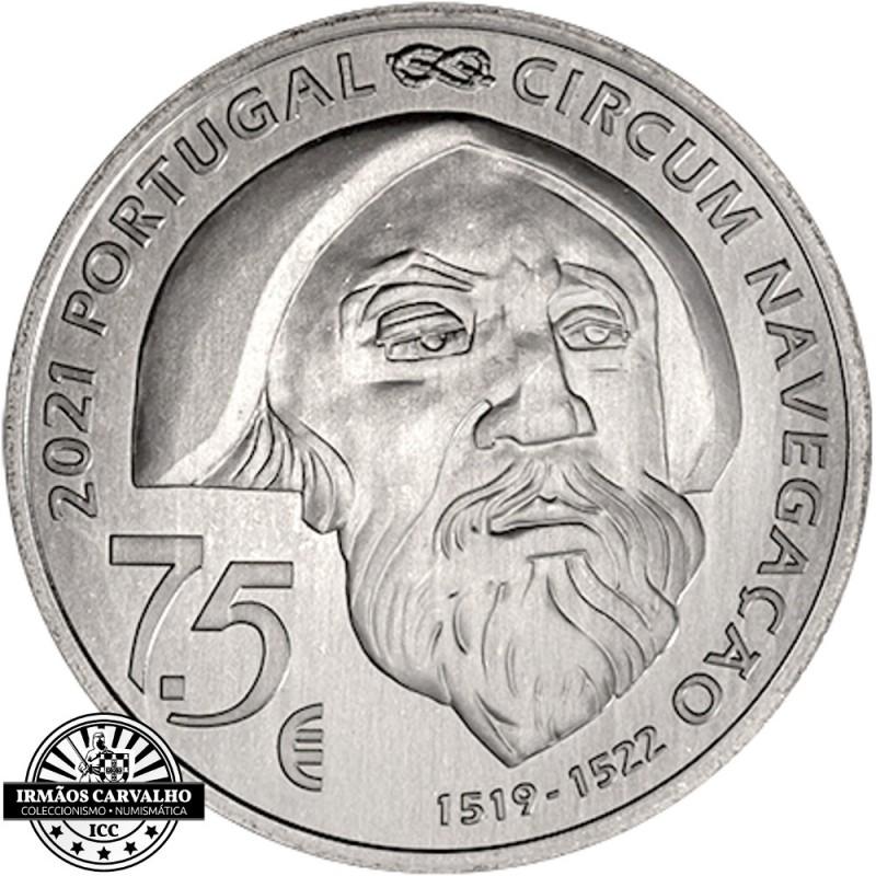 Portugal 7.5€ 2019  Ferdinand Magellan