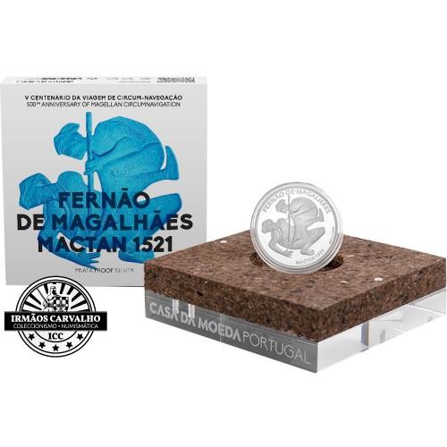 Portugal 7.5€ 2021 Proof Ferdinand Magellan MACTAN 1521