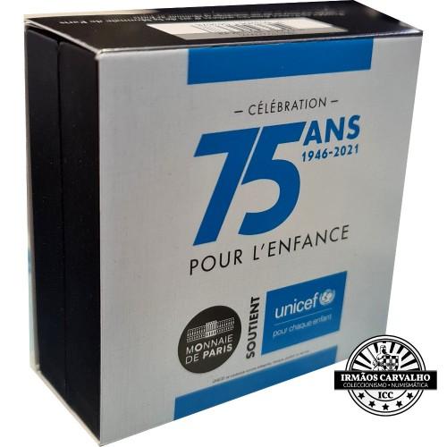 France 2021 €2 Unicef Coincard