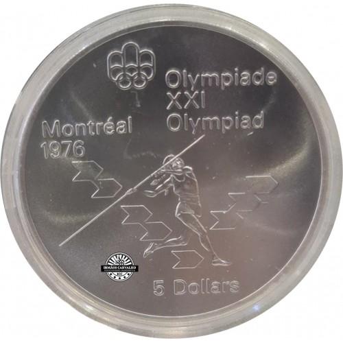Canada 5 Dollars 1975 Javelin