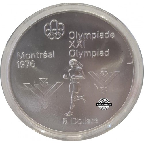 Canada 5 Dollars 1975 Marathon