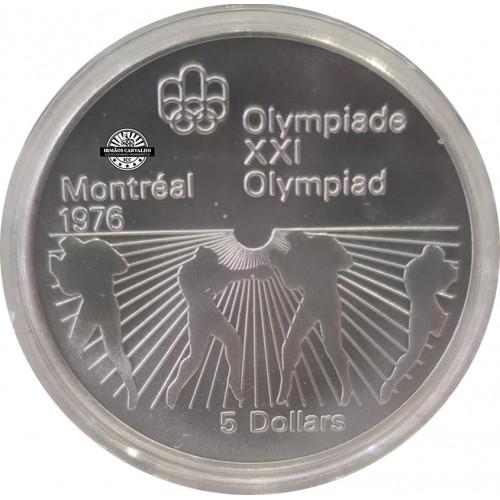 Canada 5 Dollars 1976 Boxe