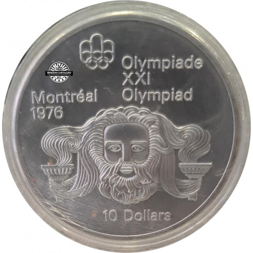 Canada 10 Dollars 1974 Zeus