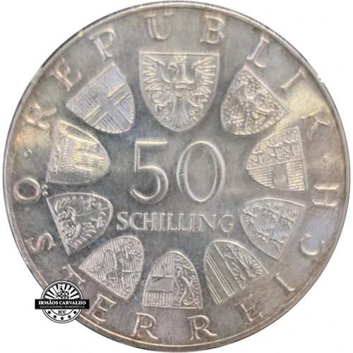 Austria - 50 Schillings 1973 (Theodor Korner)