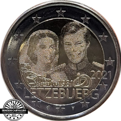 Luxembourg 2 x 2€ 2020  Prince  Charles